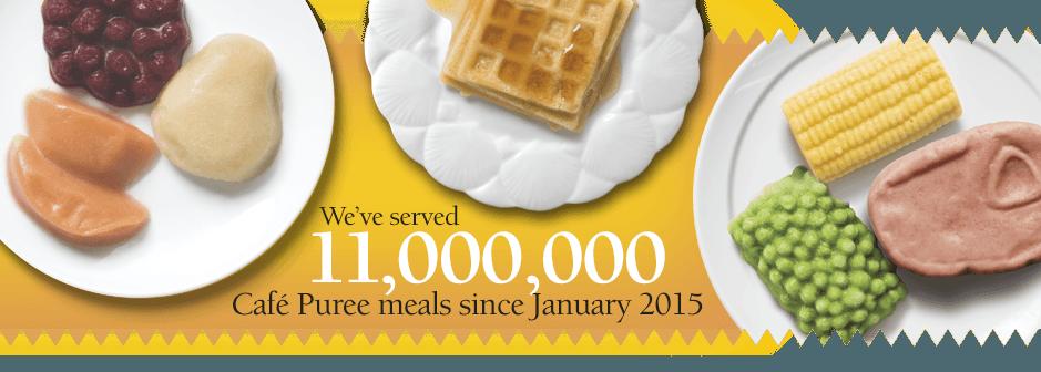 11 million Cafe Puree served.