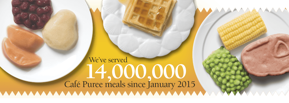 Cafe Puree sales over 14 million.