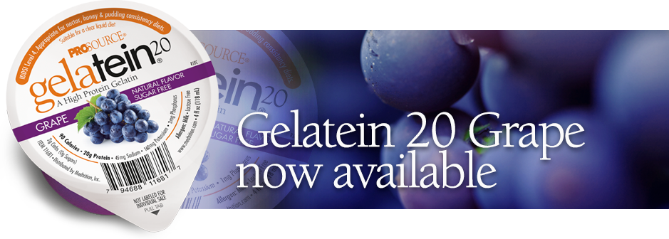 Gelatein 20 Grape, high protein gelatin